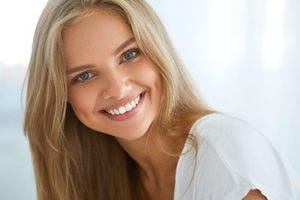 Cosmetic Dentistry Beaumont TX, blond woman smiling